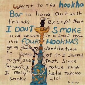 Hookha Art Journal Page